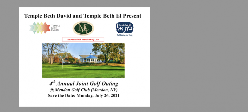 4th Annual Joint Golf Outing